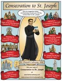 聖若瑟的特別事件與敬禮(二)聖若瑟三十三天奉獻