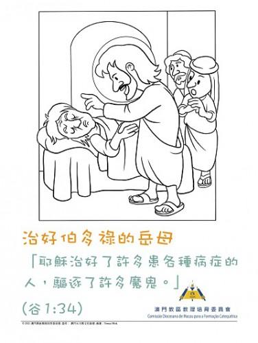 乙年常年期第五主日—— 治好伯多祿的岳母