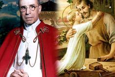 關於聖若瑟的教會文件和訓導 (三)聖若瑟工匠主保